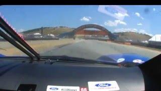 2016 IMSA Weathertech Championship Laguna Seca GTLM Ford GT #66 Onboard