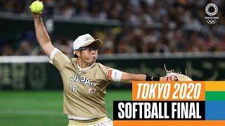 Japan 🇯🇵 vs USA 🇺🇸 | Softball Gold Medal Match 🥇 | Tokyo Replays screenshot 3