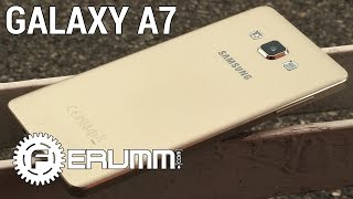 Samsung Galaxy A7 обзор. Подробный обзор Galaxy A7. Плюсы и минусы Galaxy A7 от FERUMM.COM(Samsung Galaxy A7 по самой демократичной цене можно купить с промокодами Cuponation: http://goo.gl/Ry1JwJ Samsung Galaxy A7 в Техносиле..., 2015-06-18T13:06:42.000Z)