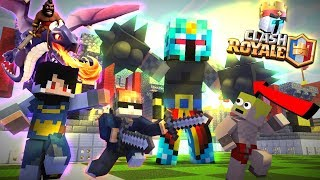 ANIMASI FROST DIAMOND MAFFIA CLASH ROYAL TERKUAT - Minecraft Animation