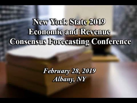 New York State 2019 Economic and Revenue Consensus Forecasting Conference
