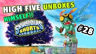 "Skylanders Shorts: Episode 28 - High Five Unboxes Himself!!! W/ Real Surprise (it's So ""epic"")"