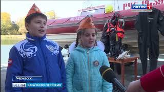 Сотрудники МЧС провели урок безопасности для учащихся Свято-Сергиевской гимназии Черкесска