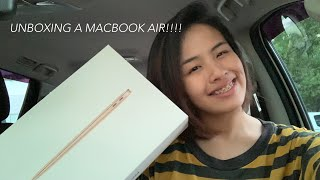 UNBOXING the MacBook Air 2020!