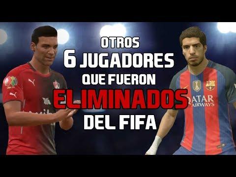 6 JUGADORES BORRADOS DEL FIFA
