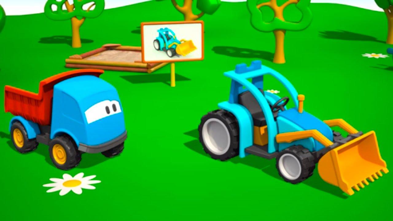 L o le camion curieux le tracteur dessins anim s en - Cars et les tracteurs ...