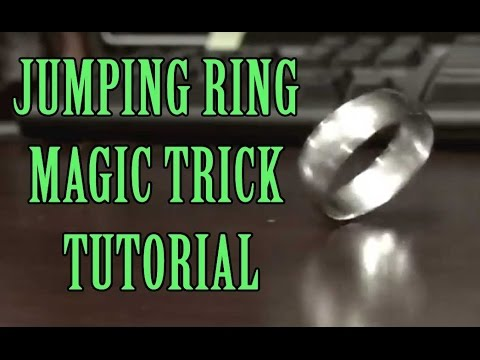 Jumping Ring Magic Trick
