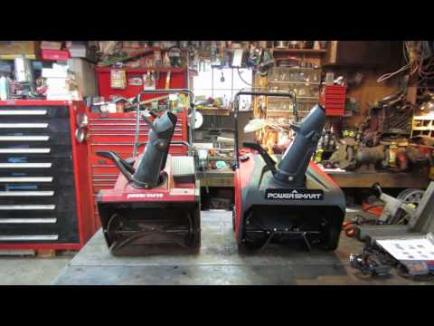db7005 power smart snowblower comparison and review