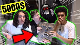 LAST PERSON TO TOUCH MY DEMONIC BOOK WINS 5000$ CASH!! (WE ARE NOT ALONE!!)