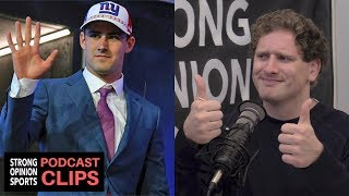 Giants Drafted Daniel Jones #6 Overall