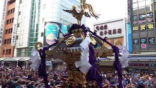 矢先稲荷神社例大祭2018_宮入渡御_Yasaki Inari Shrine Festival thumbnail