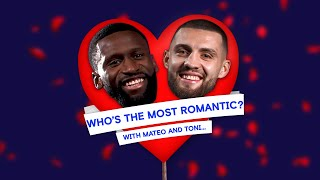 Mateo Kovačić & Antonio Rüdiger Write Love Letters By Text | Who Is The Most Romantic? 😍 😂📲