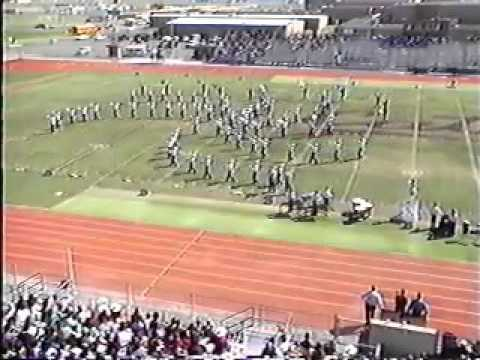 Falfurrias High School Area Marching contest 1994 Calallen TX alternate
