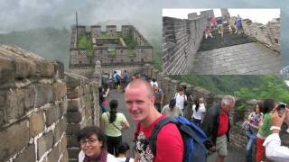 On holiday in China