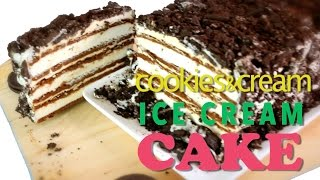 Ultimate Icecream Sandwich Cake - No Bake Baking With My Cupcake Addiction