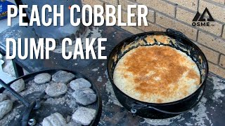 006 - Peach Cobbler Dump Cake In Your Dutch Oven!