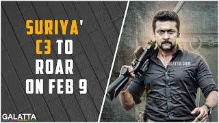 Suriya' C3 to roar on Feb 9