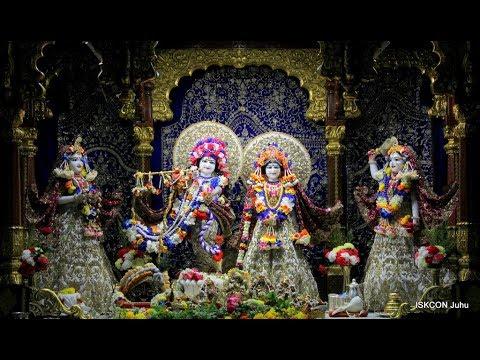 Krishna Janmashtami 2018 Day 1   Sri Sri Radha Rasbihari Krishna Mandir Live Darshan