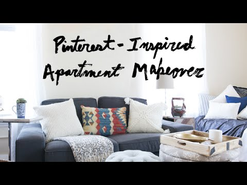 Surprise Pinterest-Inspired Apartment Makeover