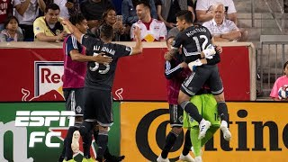 Fredy Montero earns Vancouver Whitecaps a point on the road vs. New York Red Bulls | MLS Highlights