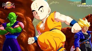 Dragon Ball FighterZ: NEW Gameplay! Trunks, Android 16, 17 & 18, Piccolo And Krillin