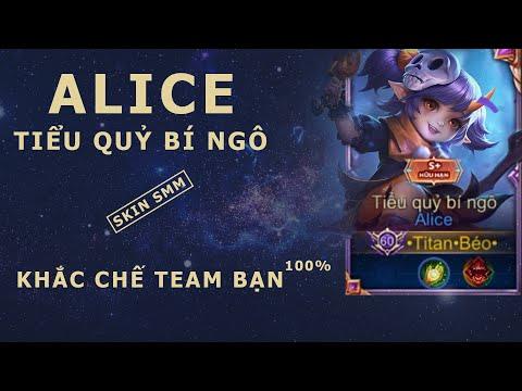 Liên Quân Mobile | Trải nghiệm Alice Tiểu Quỷ Bí Ngô và mẹo bảo kê AD toàn diện - by Titan Gaming
