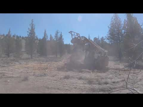 Land Clearing Unlimited, LLC Juniper slash piles