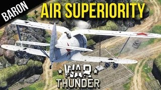 War Thunder - Planes Bombing Tanks, Air Superiority - War Thunder Ground Forces