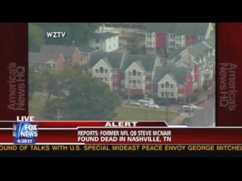 Former Titans QB Steve McNair found dead from gunshot wounds