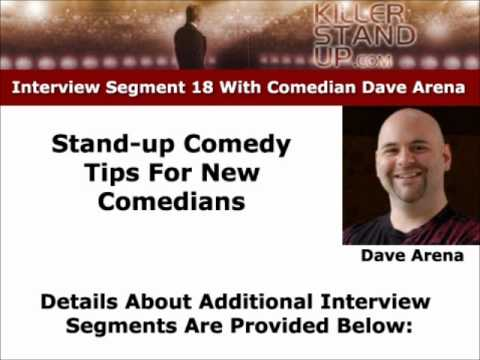 Writing for stand-up