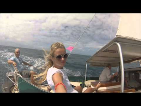 Hot Russian sailing in the Caribbean