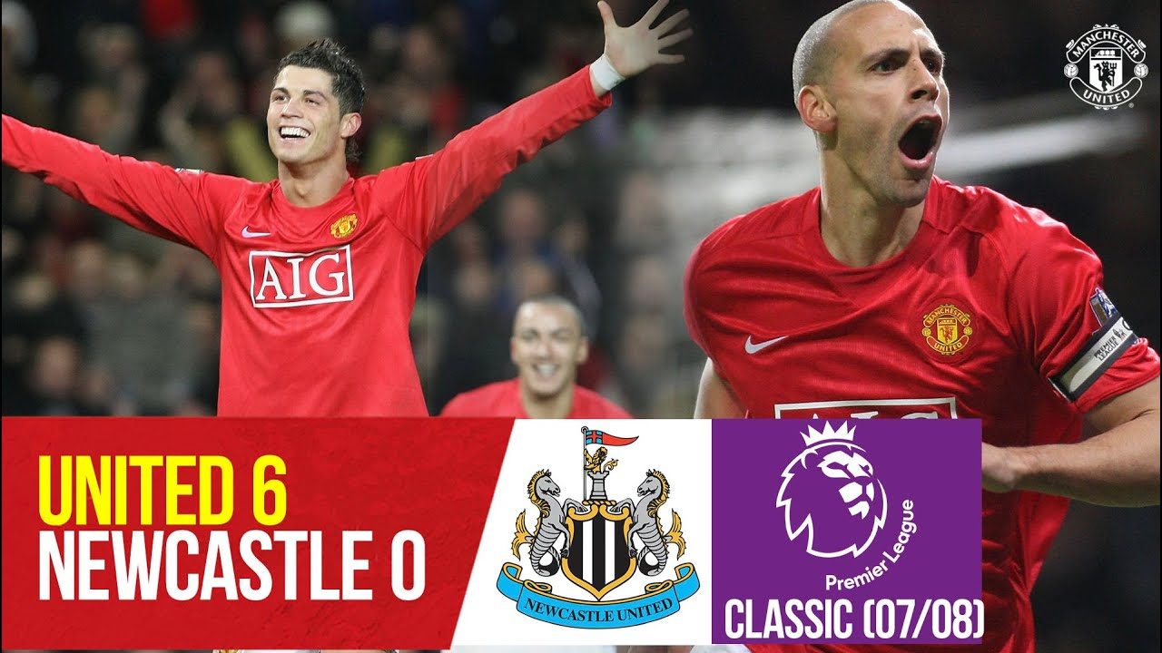 Download Classics   Goals Galore as Ronaldo hat-trick sinks Newcastle   Manchester United v Newcastle (07/08)