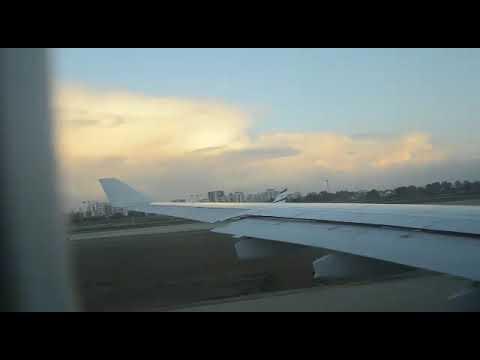 Iberia A330-200 Full Flight From Tel Aviv To Madrid