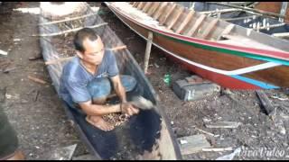 Pulau Sewangi, Pusatnya Pembuatan Perahu Tradision