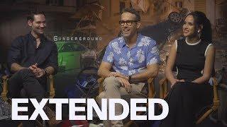 Ryan Reynolds, Manuel Garcia-Rulfo, Adria Arjona On Shooting '6 Underground' | EXTENDED