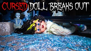 CURSED Doll Breaks Out At HAUNTED House - DYBBUK Box & POSSESSION!