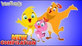Funny Cartoon For Kids | Eena Meena Deeka | New Compilation 39 | Comedy Show for Kids | Wow Toons