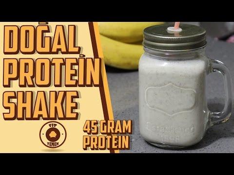 Doğal Protein İçeceği - 45 Gram PROTEİN | FitYemek