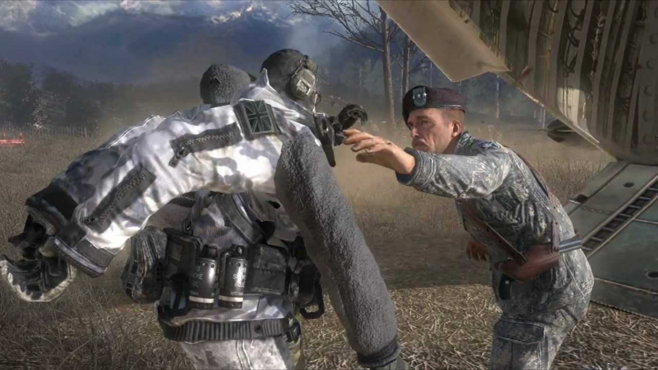 Modern Warfare 2 Roach And Ghost S Death Youtube