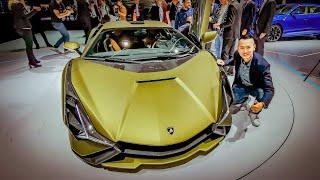 Sờ tận tay Lamborghini SIAN 2,1 triệu Euro - Chi tiết thông tin bạn cần biết   XE HAY