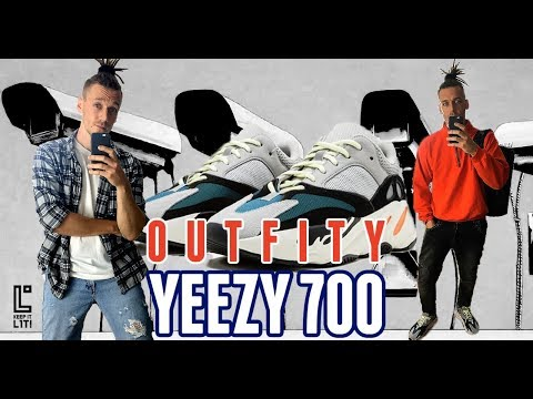 31ef07f3f ON FEET YEEZY 700 OG 9 OUTFITÓW  UNBOXING