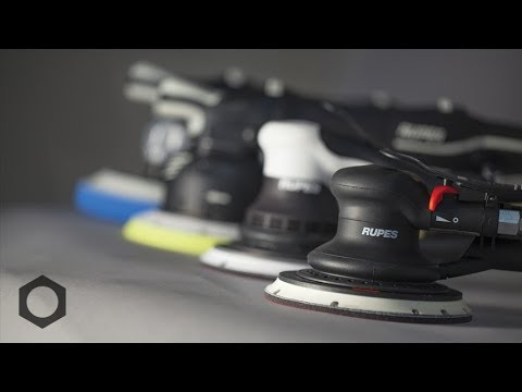RUPES Product Series:  E2 - Polisher Movement Types