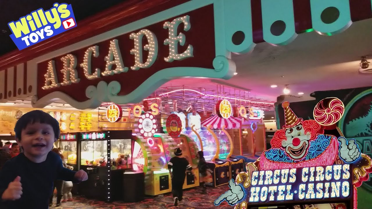 Image result for Circus Circus Arcade