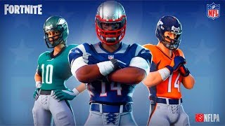 Fortnite X NFL Official Gameplay Trailer 2018 (National Football League)