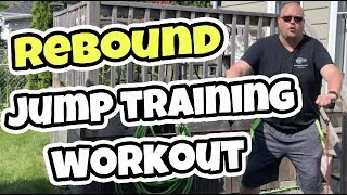 Basketball Rebound Workout At Home | Vertical Jump Training