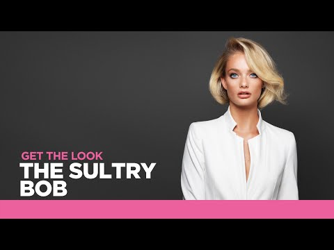 S Factor by TIGI 2016 STEP BY STEP LOOK The Sultry Bob | Tut