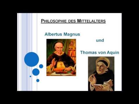 Albertus Magnus und Thomas von Aquin!