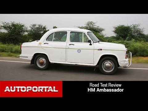 Hindustan Motors Ambassador Test Drive Review - Auto Portal