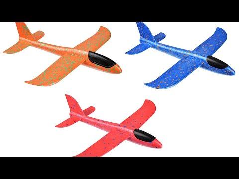 Обзор на Пенопластовый самолет