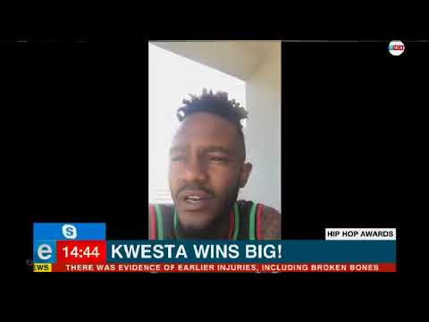 Kwesta wins big at SA Hip Hip Awards